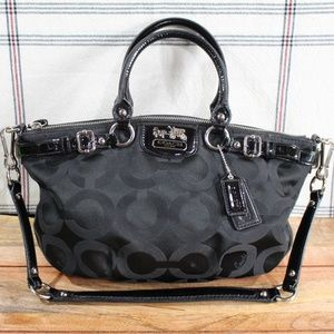 Coach 18650 Black 'Madison' Purse